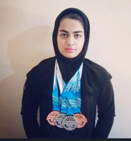 بانوی سیستان و بلوچستان پدیده رقابت های مچ اندازی/ بهار بدیعی چهار مدال آسیایی به ارمغان آورد