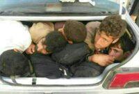 حمله قاچاقچیان انسان با چوب و سنگ به ماموران انتظامی در روستای تمپ ریگان ایرانشهر