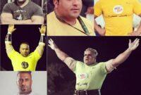 قویترین مرد سیستان و بلوچستان راهی مسابقات بین المللی امارات شد